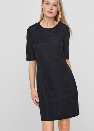 Платье vero moda с тонкой структурой vero moda