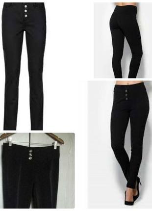 Леггинсы с пуговицами моделирующие фигуру брюки штаны турция s m
