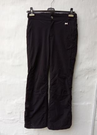 Чёрные лыжные брюки luhta оригинал,рисунок,термо.