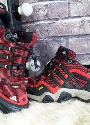Кроссовки полуботинки adidas. оригинал. трекинговые. gore-tex