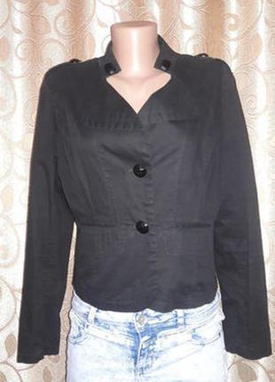 🌺🎀🌺женский классический черный пиджак, жакет ahashun🔥🔥🔥