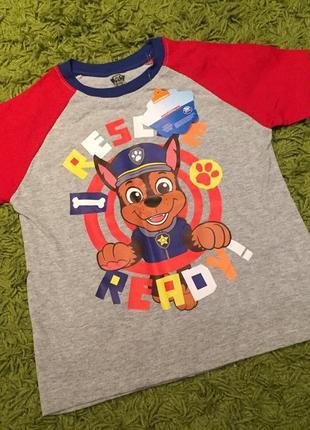 Новая футболка щенячий патруль