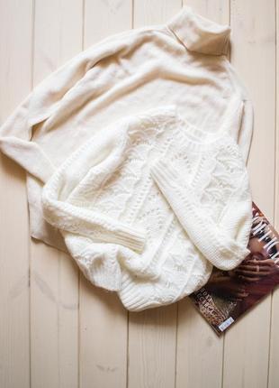 Ажурный свитер h&m