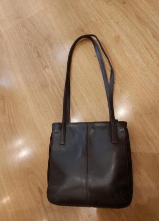 Кожаная сумки