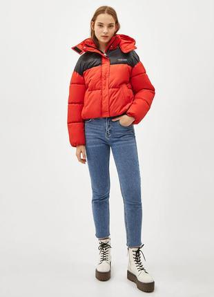 Крутейшая зимняя куртка bershka