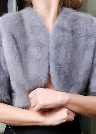 Жакет-накидка для вечернего платья