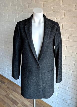 Cos удлиненный шерстяной блейзер пиджак жакет 100% оригинал