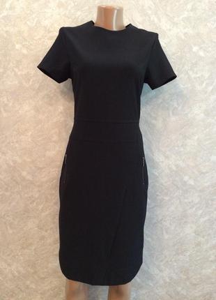 Платье черное строгое офисное next