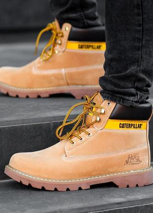 Шикарные мужские зимние ботинки/ сапоги cat caterpillar 😍 (на меху)
