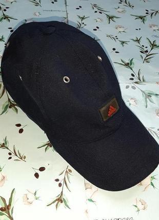 🎁1+1=3 фирменная темно-синяя кепка adidas оригинал