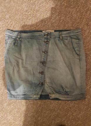Стильна джинсова спідниця
