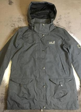 Женская куртка парка ветровка дождевик jack wolfskin