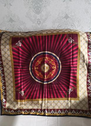 Сказочный коллекционный шелковый платок faberge🔥🔥💥
