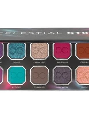 Dominique cosmetics celestial thunder palette   палитра теней для век