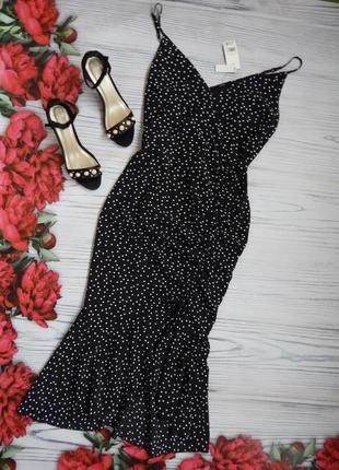 🌿милое,  невероятное платье в  горох от george. размер 2xl🌿