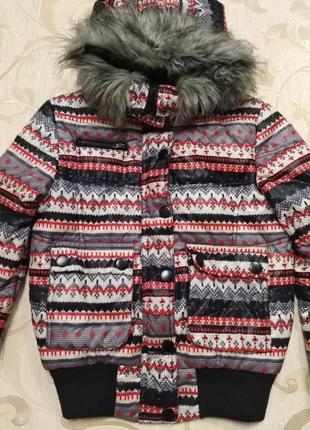 Куртка осенняя, вышиванка
