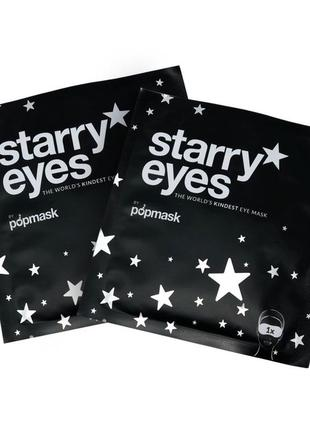 Starry eyes popmasks самонагревающиеся маски для глаз , 2 шт.