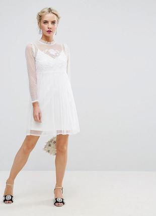 💎💖розпродаж колекції!подвійна сукня з вишивкою та сіточкою доставка сутки