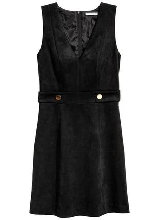Платье с v-образным вырезом h&m