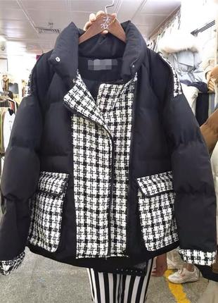 Стильная зимняя женская куртка