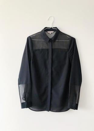 Стильна чорна сорочка