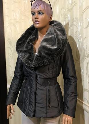 Утепленная курточка, zara, размер м