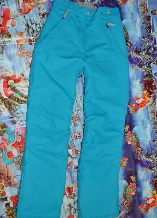Женские лыжные штаны. thinsulate. мембрана сноубордические. s34-36
