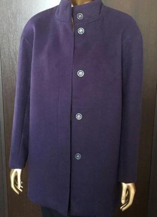 В наличии - деми-пальто с воротником-стойкой *blue motion* в двух размерах s и m