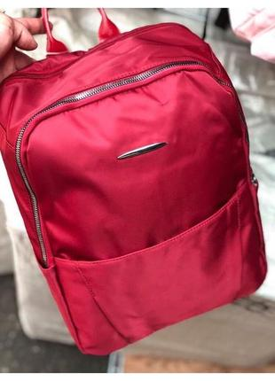 Рюзкак портфель червоний