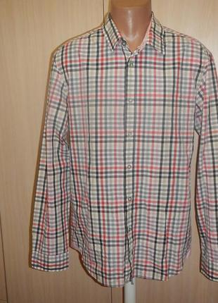 Рубашка hugo boss p.xl
