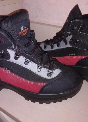 Замшевые термо ботиночки waterproof