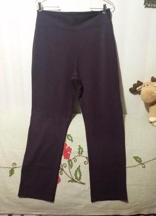 Плотные вискозные брюки - штаны (пот 43-55 см) на высокий рост (канада)