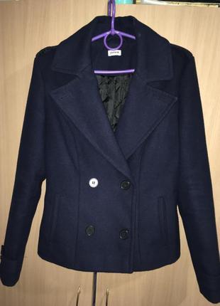 Короткий , тёплый , осенний пиджак pimkie