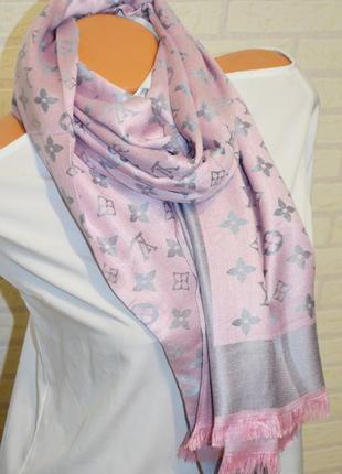Стильный палантин шарф2