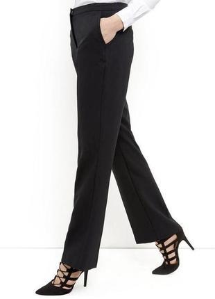Люксовые ♥️😎♥️ прямые чёрные шерстяные брюки windsor.