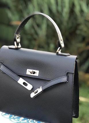 Красивая женская сумочка из натуральной кожи италия сумка шкіряна