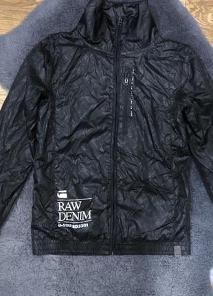 Шикарная брендовая ветровка куртка g-star raw