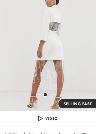 Платье просто огонь от asos