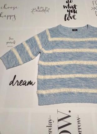 Распродажа! мягкий голубой свитер, теплая кофта джемпер
