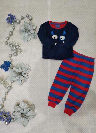 Пижама для мальчика дракошки на 3-4 года 104 см