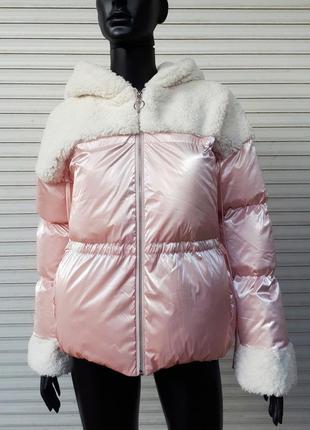 Куртка с овчиной