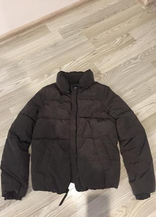Курточка на весну, объемная, дутая, теплая