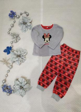 Пижама раздельная мики на 4-5 лет 110 см