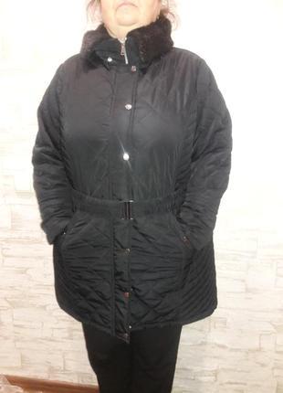 Курточка батал стеганная размер 24 или 60-62
