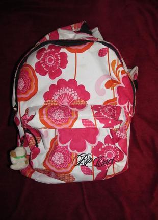 Рюкзак в цветочный принт