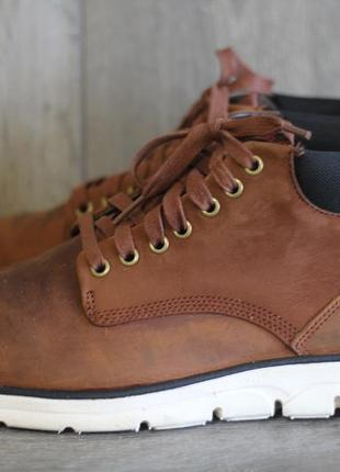 Ботинки демисезонные кожаные timberland 45-46