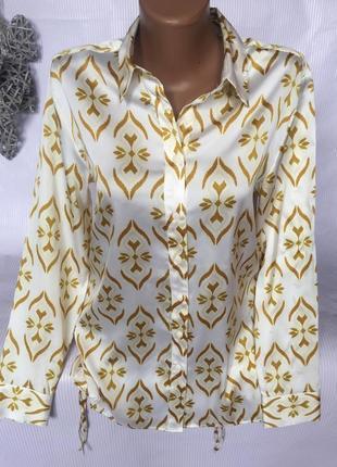Шикарная воздушная  рубашка блуза m&s