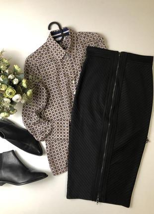 Плотная бандажная юбка h&m состояние новой  размер с