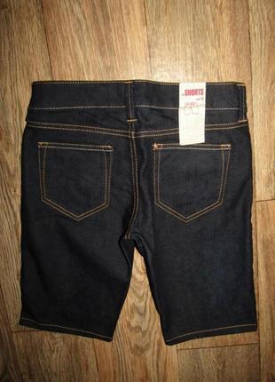 Джинсовые шорты р-р 25-xs новые
