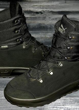 Puma gore-tex ! непромокаемые, невероятно теплые, стильные термо ботинки